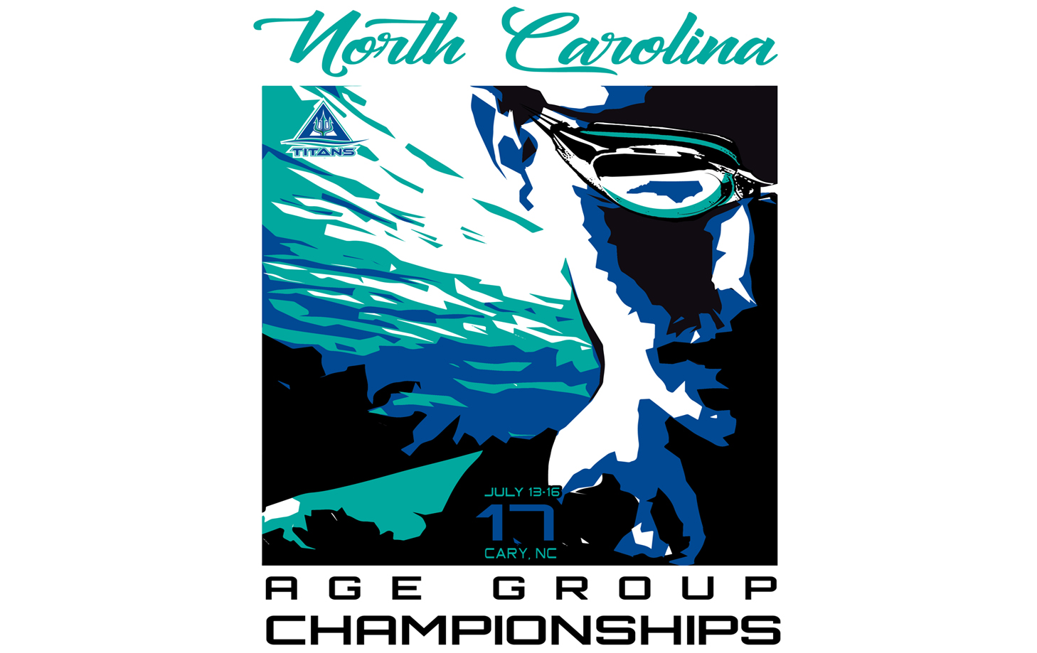 2017 North Carolina Swimming Long Course Age Group Championships Triangle Aquatic Center