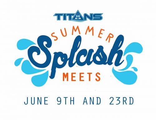 TITANS Offer June Summer Splash Meets – Open to All Swimmers