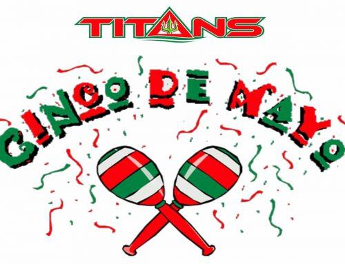 Bienvenido Nadadores!  TAC TITANS Cinco de Mayo Meet This Weekend!